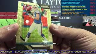 Thursday Night NFL 25 Box Cards & Gear Football Mixer