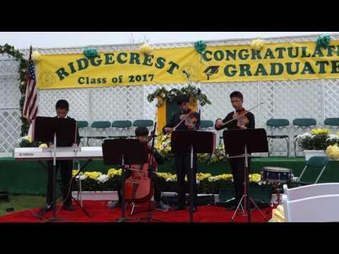 Ridgecrest Intermediate School Graduation-Canon in D by SNAK