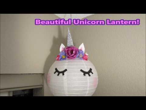 Unicorn Lantern DIY