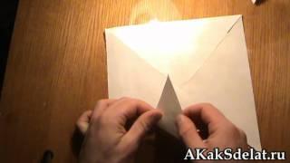 Как из бумаги сделать вертушку