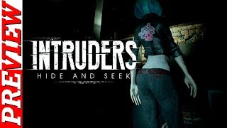 Different Kind Of Horror Game | INTRUDERS HIDE AND SEEK | New Gameplay