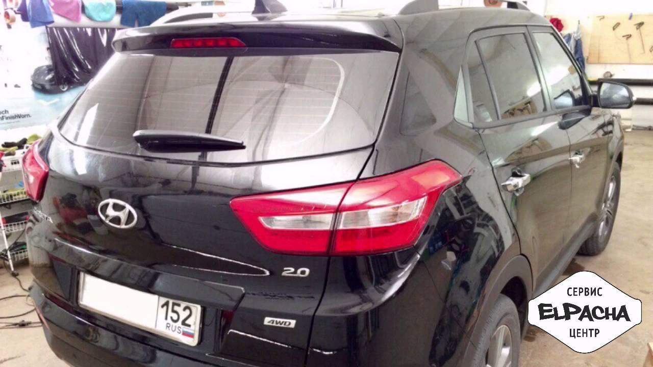 Багажник бокс на крышу Hyundai Solaris седан 2010-2016 в Нижнем .
