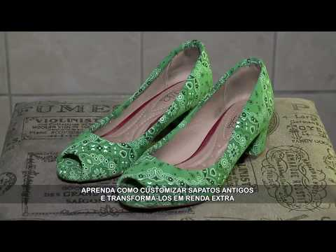 Remodelagem de sapatos