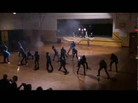 Greenwood Middle School Thriller 2012