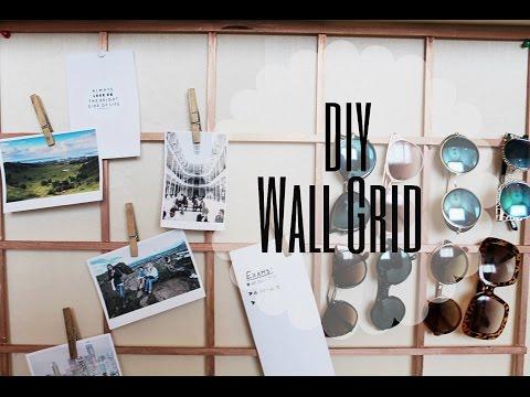 DIY Wall Grid
