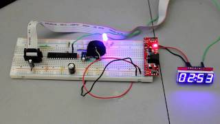 DS1307 RTC with SparkFun 7-Segment Serial Display