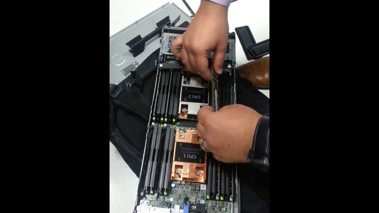Dell PowerEdge M630 Memory Upgrade from 64 Gb to 128 gb