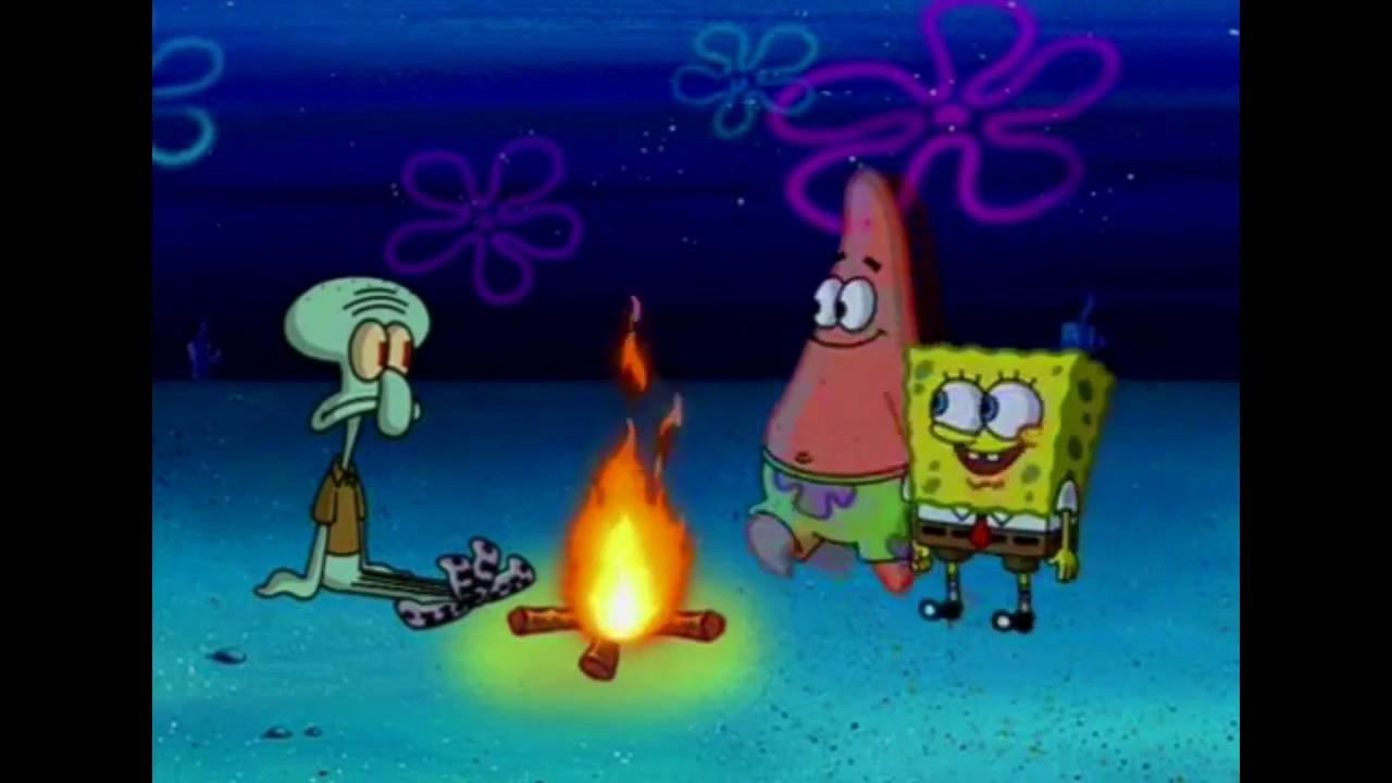 Spongebob Squarepants The Campfire Song Song  YouTube