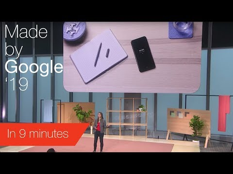 Google Pixel Event key announcements in 9 minutes