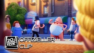 Captain Underpants: Der supertolle erste Film | Captain Underpants hilft | Deutsch HD (2017)
