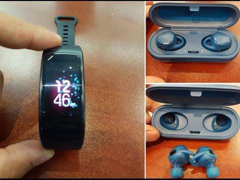 how to connect gear fit 2 to iohine