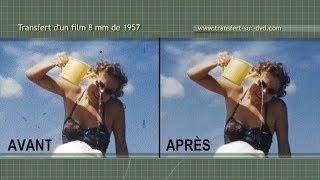 comment nettoyer film 8mm