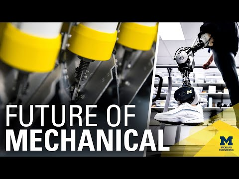 Present and Future: Mechanical Engineering at Michigan