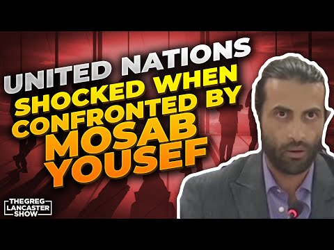 UNITED NATIONS SHOCKED WHEN CONFRONTED by Mosab Yousef as he