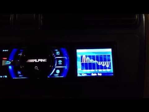 Alpine iDA-x100 EQ Adjustment