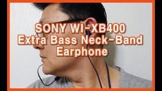 SONY WI-XB400 Extra Bass Neck-…