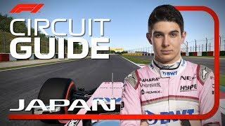 Esteban Ocon's Virtual Hot Lap of Suzuka | Japanese Grand Prix