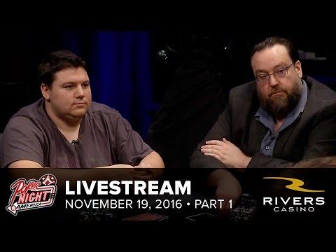 Livestream | 11-19-16 | Part 1 of 2 | Rivers Casino - Pittsburgh, PA | Poker Night in America