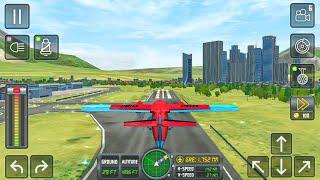 Airplane Real Flight Simulator 2021 - Pro Pilot 3D Landing Biman Airlines – Android Gameplay screenshot 1