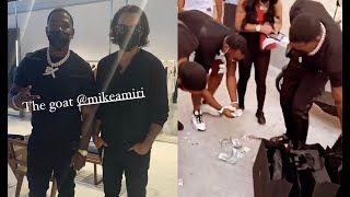 Casanova Cant Even Pick Up The Money He Drops After Spending $30K At Mike Amiri Warehouse