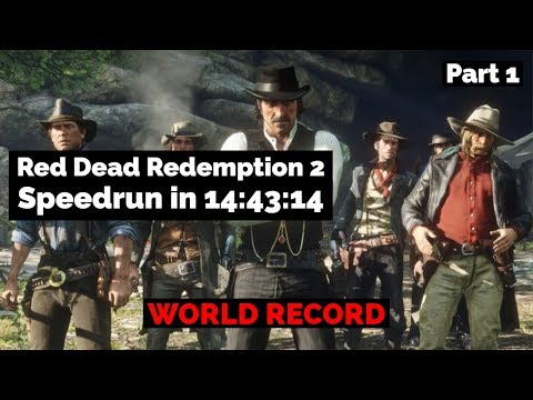 [World Record] Red Dead Redemption 2 Any% No Mission Skips Speedrun in 14:43:14 PART 1 thumbnail