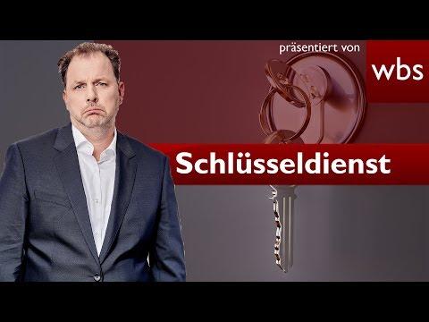 Rechnungen von Schlüsseldiensten müssen immer bezahlt werden – Stimmt das? | RA Christian Solmecke