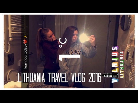 LITHUANIA TRAVEL VLOG 2016