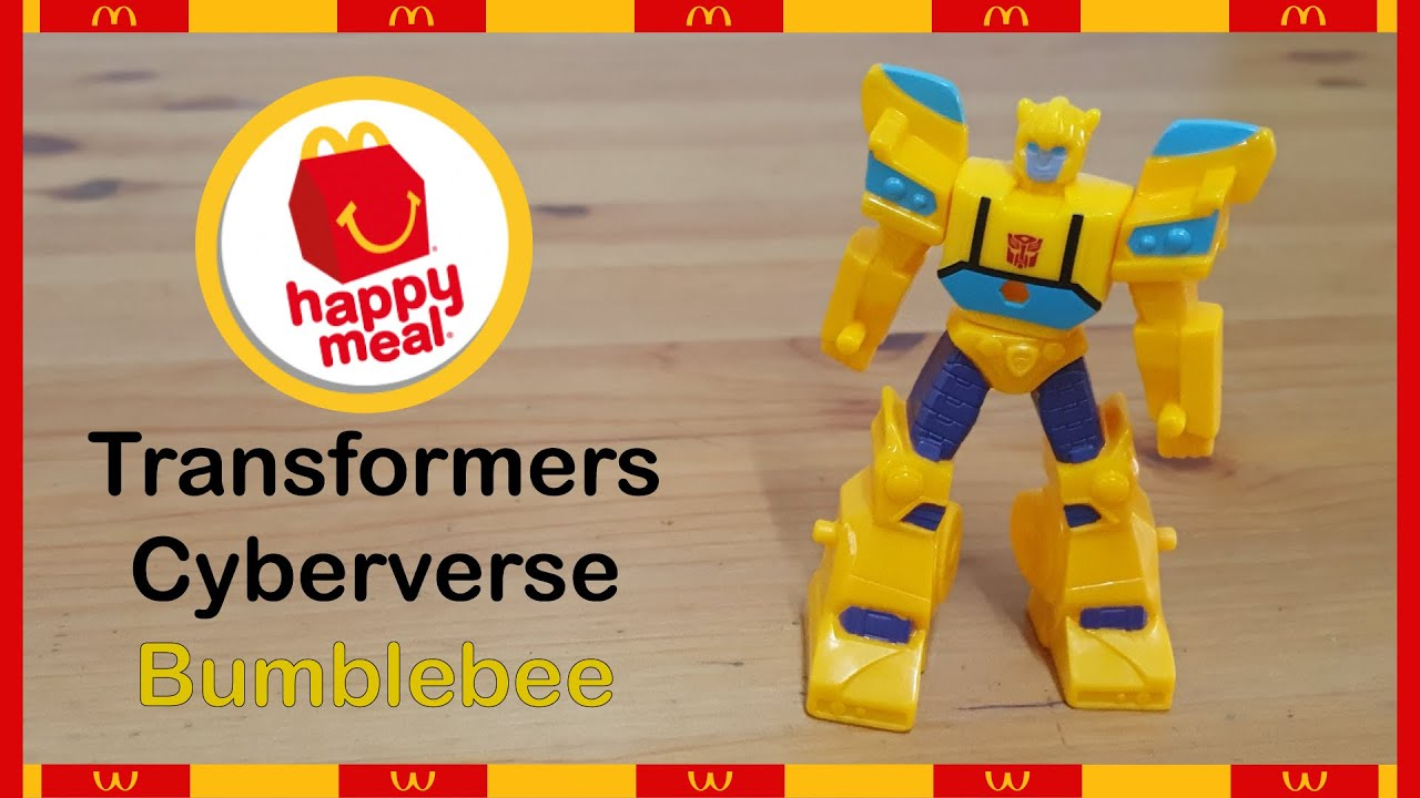 Happy Meals Toy : Transformers Cyberverse Bumblebee