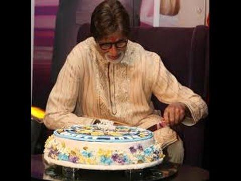 Big B Amitabh Bachchan 74th Big Birthday Cake 2016