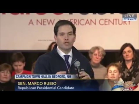 Marco Speaks To A Huge Crowd In Bedford, New Hampshire | Marco Rubio for President
