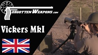Vickers Heavy Machine Gun