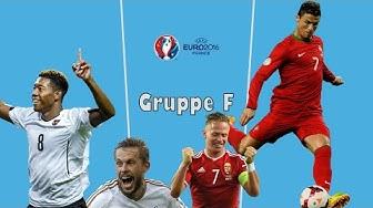 EM 2016 - Gruppe F - Analyse & Tipps - Portugal, Österreich, Island, Ungarn