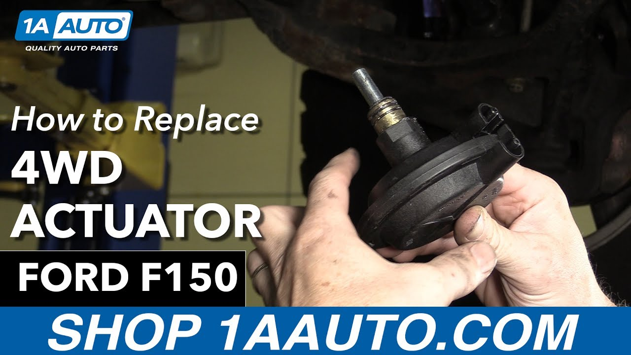 how to replace 4wd actuator 97 04 ford f150 1a auto parts [ 1280 x 720 Pixel ]
