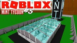 HAR VI GJORT DET?! - Roblox Mint Tycoon Ep 5