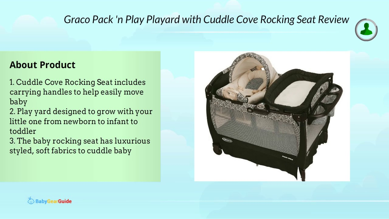 a0ff68f70e0 Graco Pack  n Play Playard with Cuddle Cove Rocking Seat Review ...