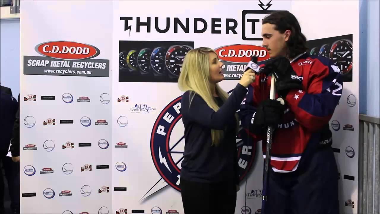 Thunder TV - Kieren Webster Interview - YouTube
