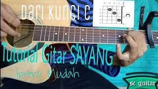 Tutorial Intro Sayang-via vallen #mudah
