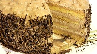 видео Кондитерские изделия : Бисквитный пломбир (торт)