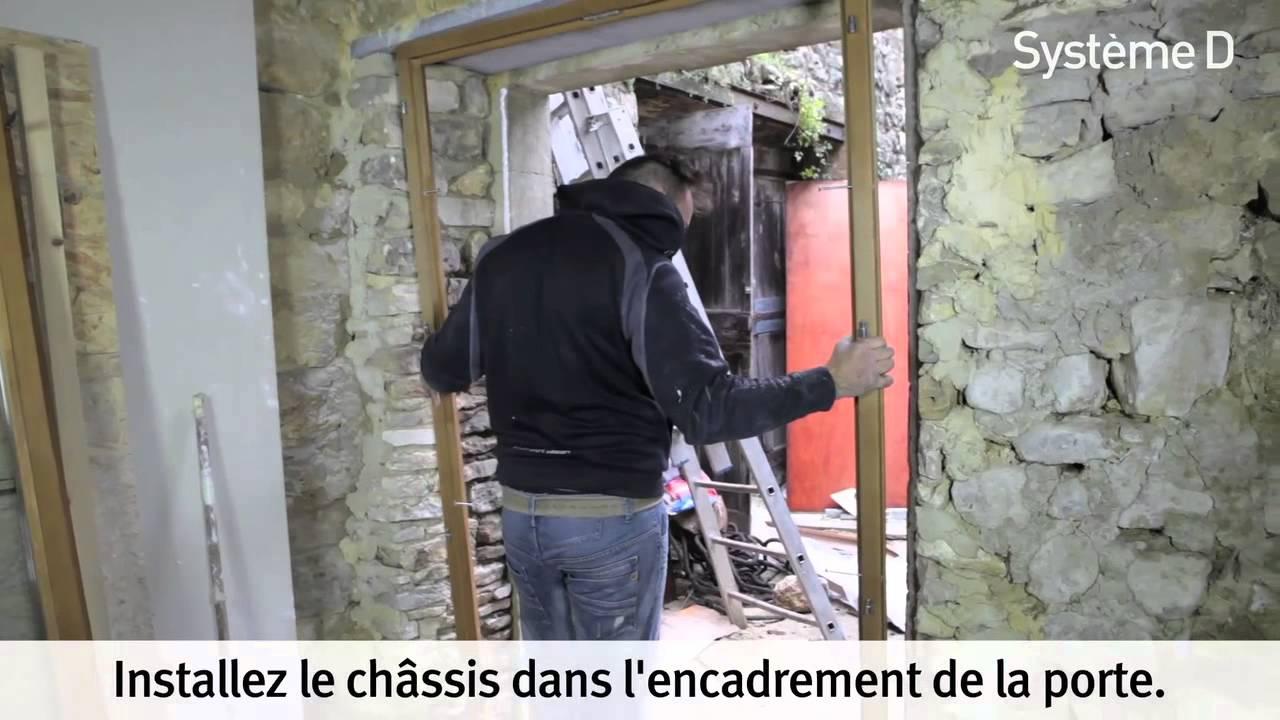 Installer Une Porte-fenêtre à Deux Vantaux - YouTube