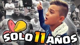 CON SOLO 11 AÑOS HUMILLÓ A SU RIVAL !! | Niños en Batallas de Rap thumbnail