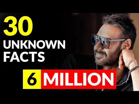 30 Unknown Facts You Should Know About Ajay Devgan || SaaranshTV