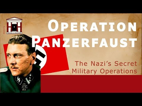 The German Coup d'état in Hungary | Operation Panzerfaust (1944) thumbnail