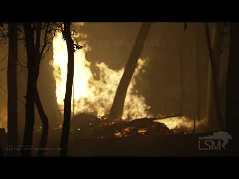 7-25-2021 Indian Falls, Ca Community destroyed by Dixie Fire- Extreme Fire behavior- Smoke
