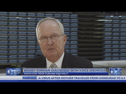 Hear UNC legend Woody Durham discuss losing his voice