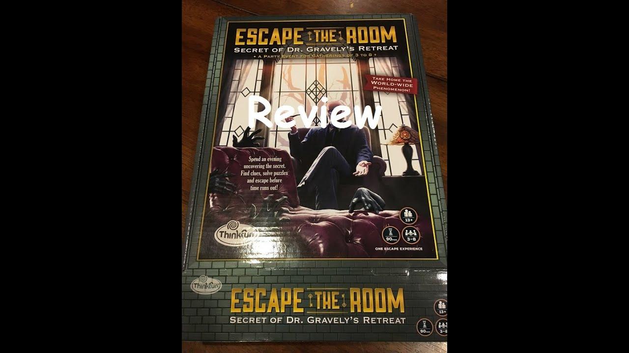 Escape The Room Secret Of Dr Gravely S Retreat Review