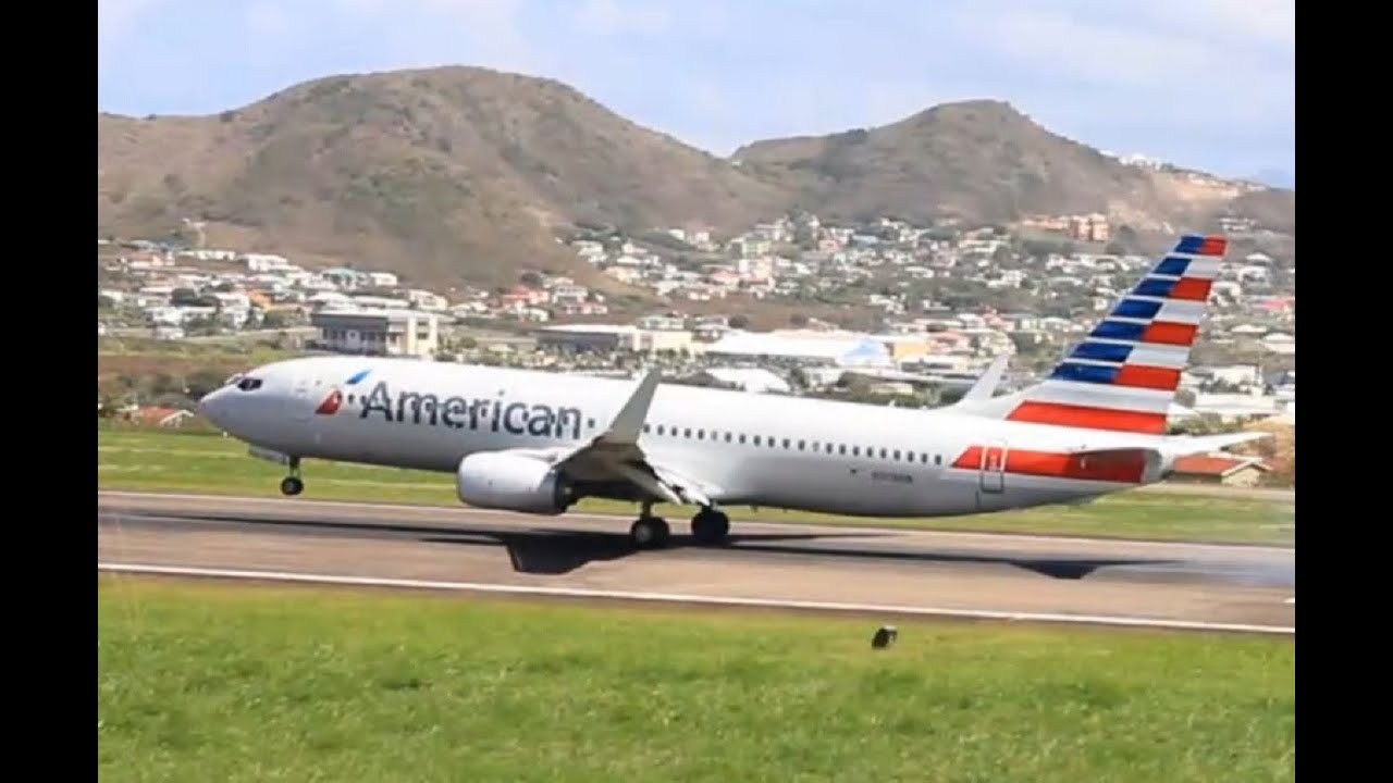 Resultado de imagen para American Airlines St. Kitts