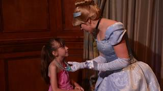 Meeting Cinderella and Elena at Princess Fairytale Hall! - Magic Kingdom, Walt Disney World, Florida