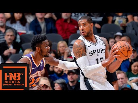 San Antonio Spurs vs Phoenix Suns Full Game Highlights | 12.11.2018, NBA Season