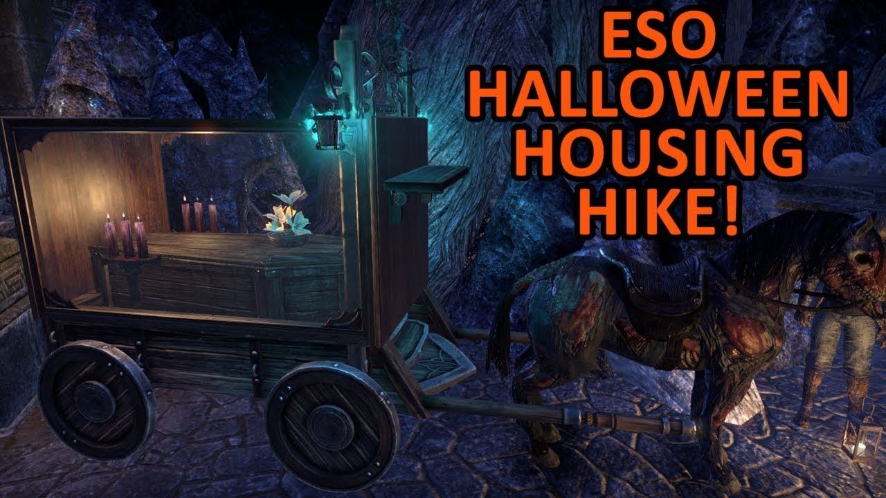 Eso Halloween House 2020 ESO Halloween Houses! 🎃   YouTube