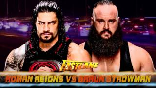 WWE Fastlane 2017 Match card